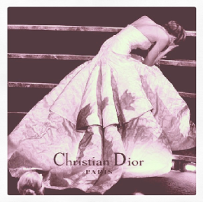 JLaw Christian Dior I fell in Dior