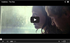 Vodafone THE KISS Campaign video caption